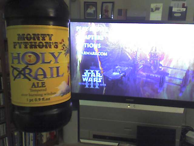 Monty Python Ale and Star Wars III